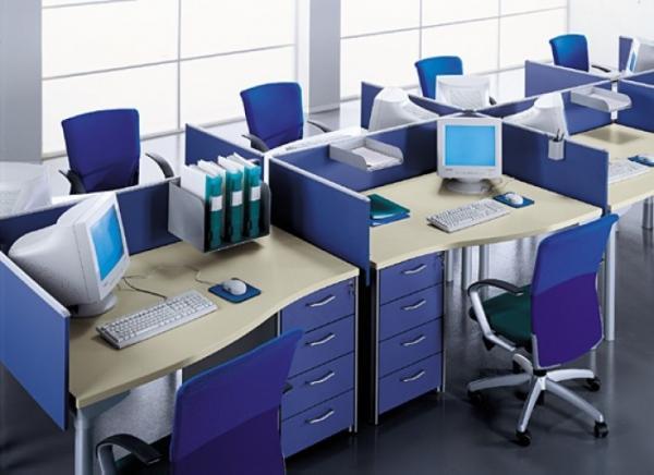 Tổng hợp các mẫu vách ngăn bàn làm việc đẹp trong văn phòng