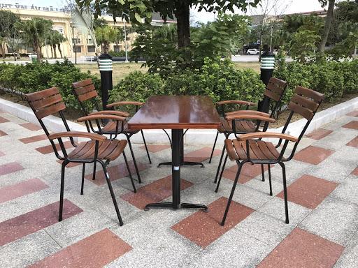 Một số mẫu bàn ghế cafe ngoài trời đẹp tại Duy Phát